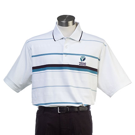 Mens Capricorn Chest Stripe Polo
