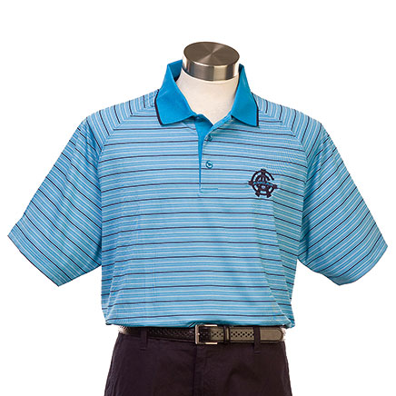 Mens Rio Stripe Polo