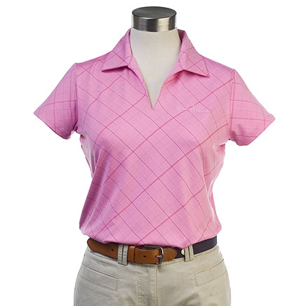 Ladies Veronica Argyle Polo