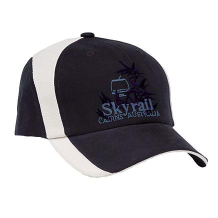Spliced Stretch Cap