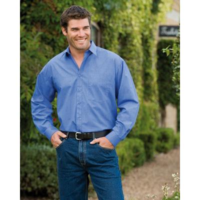 Corporate Workwear Mens Cross Dyed shirt
