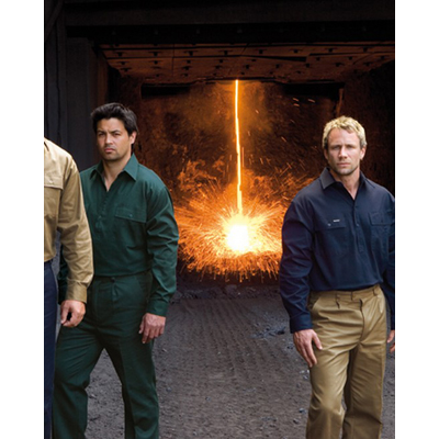 Workwear Closed Front Workshirts