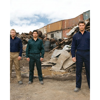 Workwear Hi-Vis Cotton Workshirts Long s