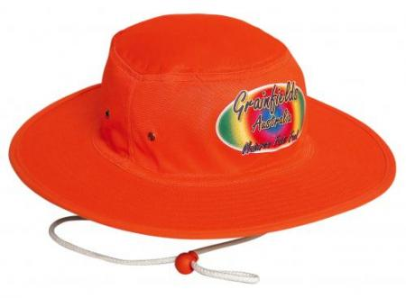 Luminescent Safety Hat With Toogle
