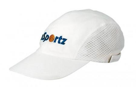 Cotton Sports Cap With Mesh Sides