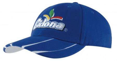 Brushed Heavy Cotton Cap With Laminated Peak Inser
