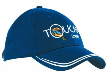 Brushed Heavy Cotton Sports Twill Cap With Double
