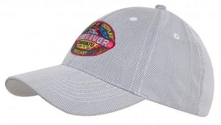 Mesh Covered Cotton Cap