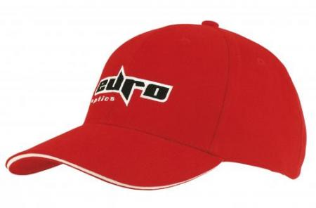 Heavy Brushed Cotton Cap With Sandwich Trim