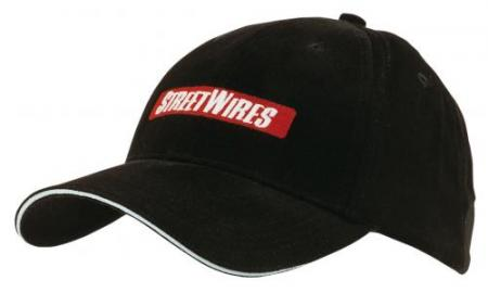 Heavy Brushed Cotton Cap With Reflective Sandwich