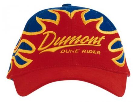 Heavy Brushed Cotton Cap With Front Flame Embroide