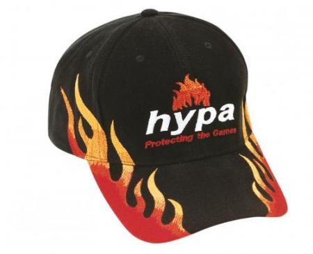 Brushed Heavy Cotton Cap With Double Flame Embroid