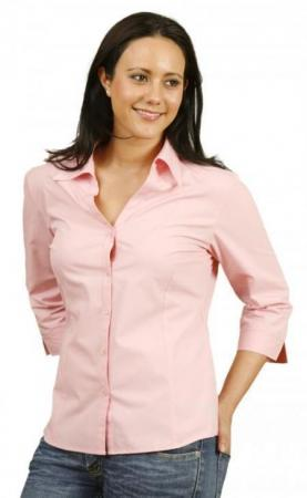 Teflon Ladies 3 / 4 Sleeve Shirt Size: 6 - 18