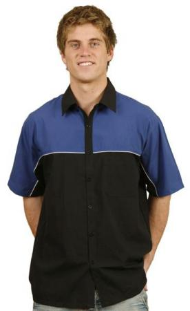 Tri-colour Poly / Cotton Twill Shirts Size: S - 3X