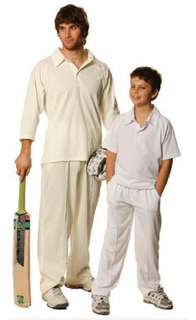 Mens CoolDry Polyester Cricket Pants Size: S - 3XL