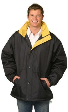 Stadium Outerwear Contrast Jacket (Unisex) Size: X