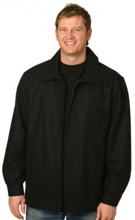 Mens Wool Blend Jacket Size: S ? 3XL