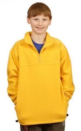 Kids Polar Fleece Half Zip Pullover (Unisex) Size:
