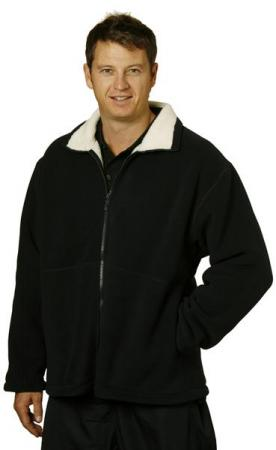 Mens Shepherd Polar Fleece Contrast Jacket Size: S