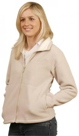 Ladies Shepherd Polar Fleece Contrast Jacket Size: