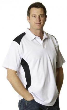 Mens TrueDry Short Sleeve Contrast Polo Size: XS -
