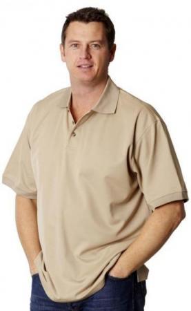 Mens TrueDry Short Sleeve Polo Size: S - 5XL