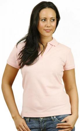 Ladies Short Sleeve Cotton / Elastane Polo Size: 8
