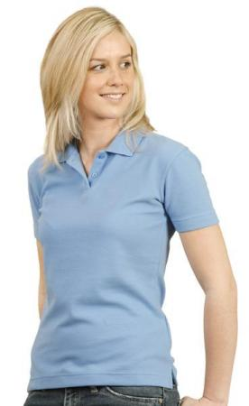 Ladies Short Sleeve TrueDry Ottoman Polo Size: 8 -