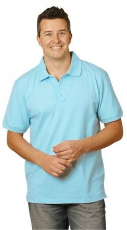 Mens Cotton Stretch Pique Polo Size: S - 5XL