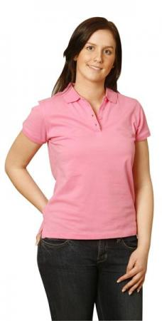 Ladies Cotton Stretch Pique Polo Size: 8 - 18