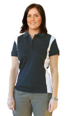 Ladies Short Sleeve Ottoman Polo Size: 8 - 18