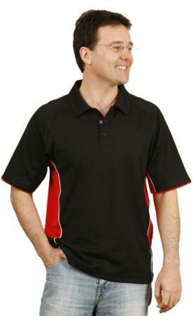 Mens TrueDry Tri-colour Polo Size: S - 5XL
