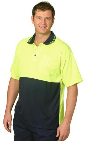 CoolDry Micro-mesh Safety Polo Size: S ? 3XL