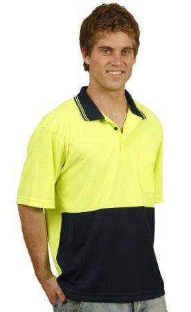TrueDry Micro-mesh Safety Polo Size: S ? 3XL