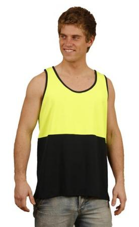 High Visibility TrueDry Mesh Knit Safety Singlet S