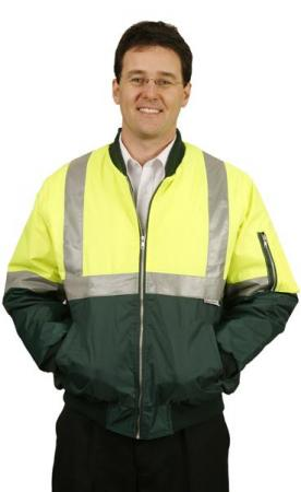 High Visibility Flying Jacket with 3M Reflective T