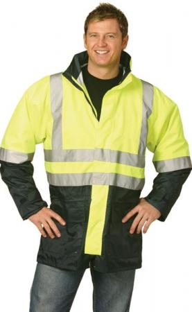 High Visibility Two Tone Vest With 3M Reflective T