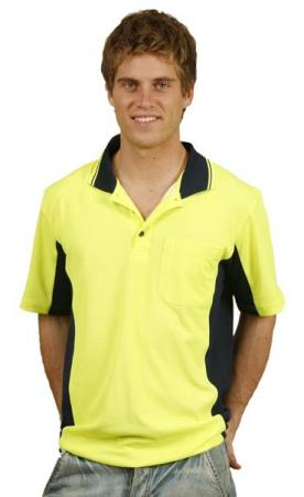 Mens Fashion TrueDry Safety Polo Size: S ? 3XL