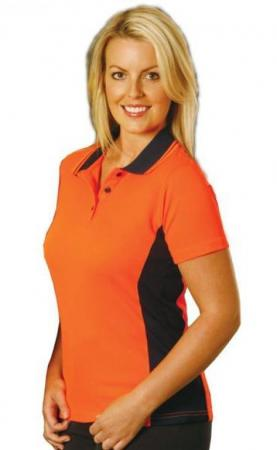 Ladies Fashion TrueDry Safety Polo Size: 8 ? 18