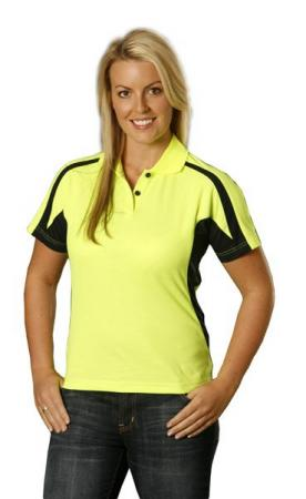 Ladies TrueDry Short Sleeve Safety Polo Size: 8 ?