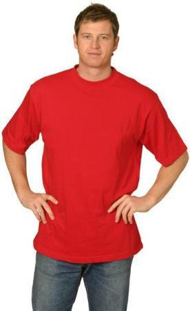 Cotton Crew Neck Short Sleeve Tee Shirts (Uni