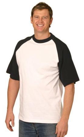 Mens Short Sleeve Cotton Tee Size: S - 3XL