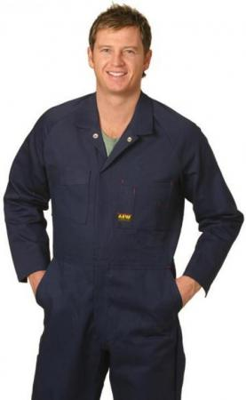 Mens Action Back Coverall in Heavy Cotton Pre-shru