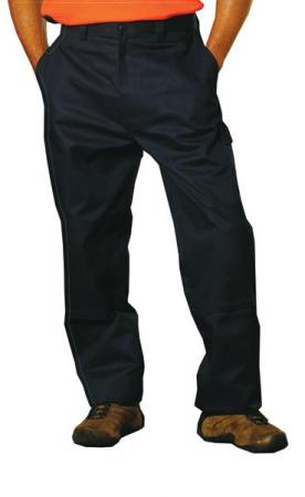 Cotton Drill Cargo Pants With Knee Pads Size: 77R