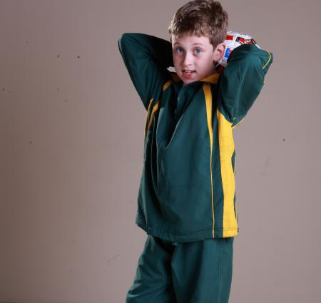 KIDS TRACK -SUIT JACKET