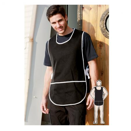 COTTON DRILL POPOVER APRON -WITH POCKET
