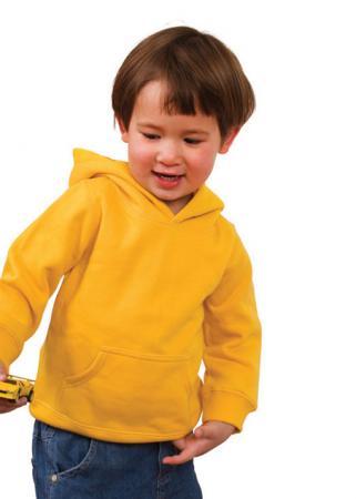 Babies cotton/poly fleece zip hoodie