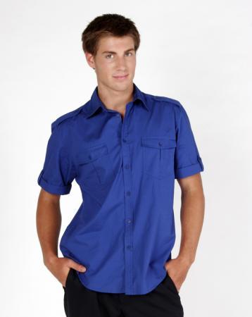 Mens Military short sleeve shirts