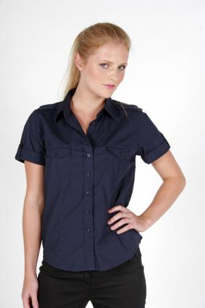 Ladies military short sleeve shirts