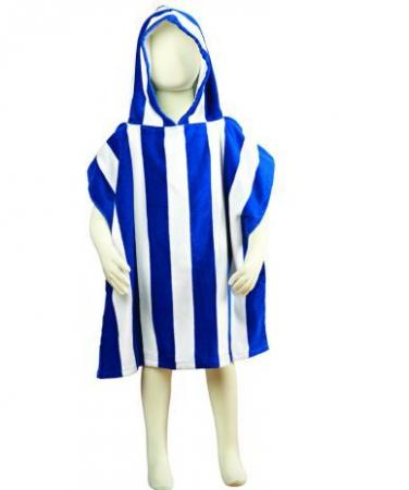 Fun Stripe kids poncho
